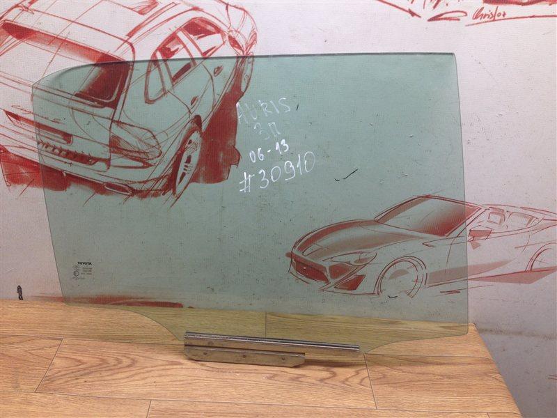 Стекло двери задней правой Toyota Auris (E15_) 2006-2012