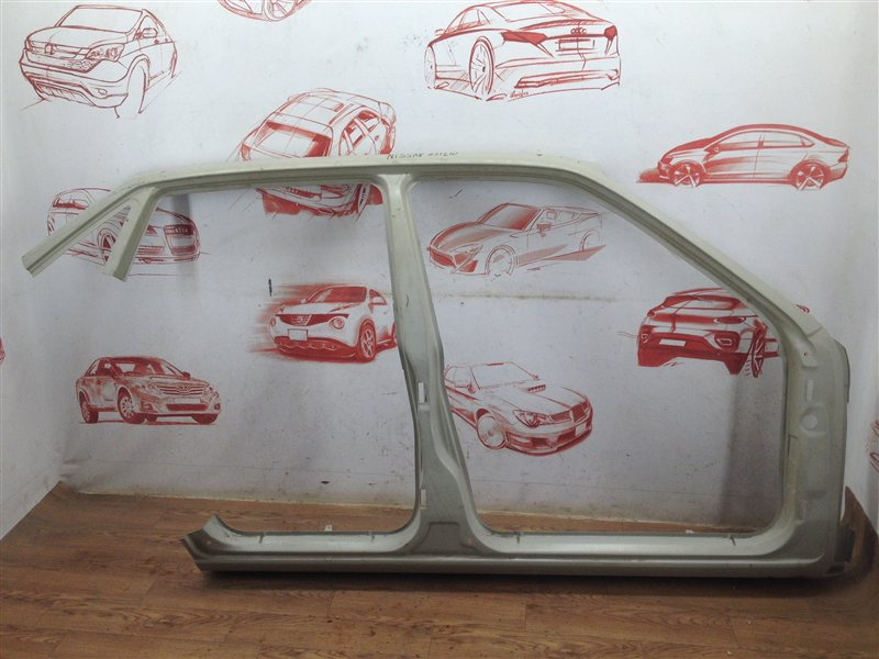 Кузов - боковина (обрезок) Daewoo Nexia 1995-2016 правый