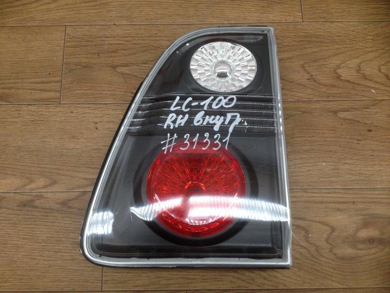 Фонарь правый - вставка в дверь / крышку багажника Toyota Land Cruiser 100 (1998-2007)