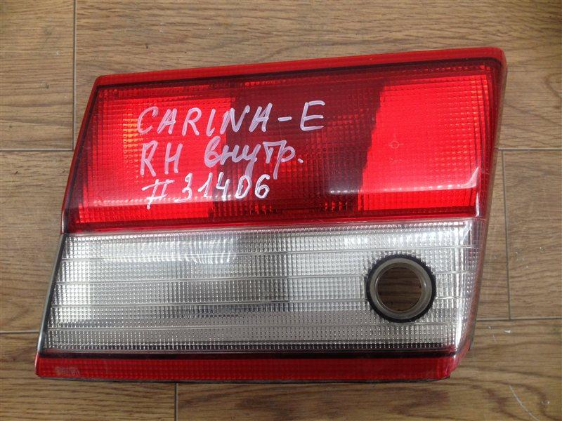Фонарь правый - вставка в дверь / крышку багажника Toyota Carina-E (1991-1996)