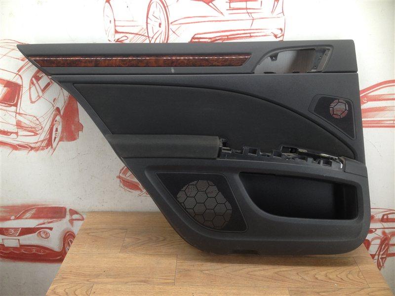 Обшивка двери задней левой Skoda Superb (2008-2015)
