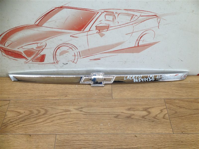 Решетка радиатора - молдинг Chevrolet Lacetti