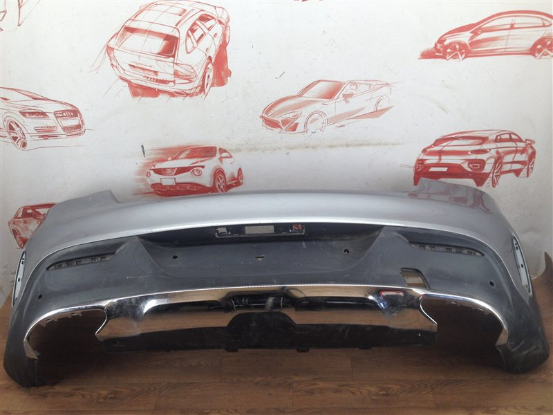 Бампер задний Mercedes Gle Coupe (W292) 2014-Н.в.