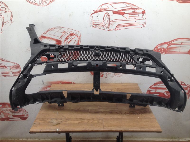 Решетка бампера переднего Mercedes M (Ml)-Klasse (W166) 2011-2015