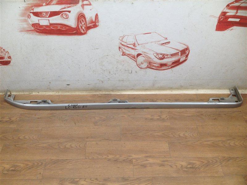 Подножка кузова - окантовка Toyota Land Cruiser Prado 150 (2009-Н.в.) правая