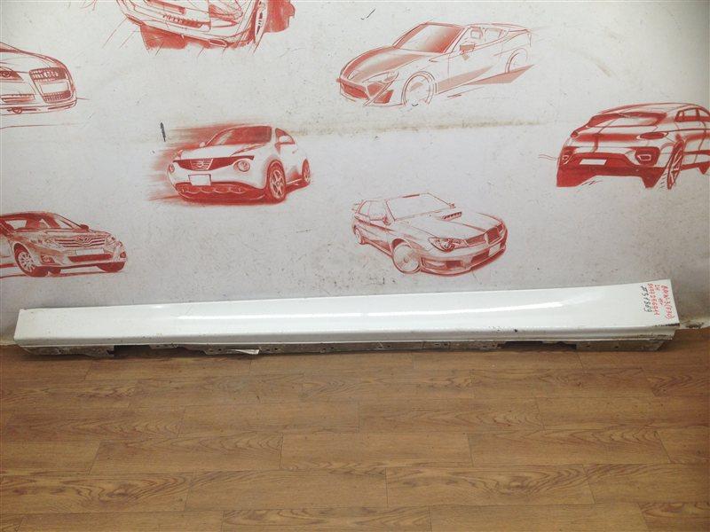 Накладка порога кузова - наружная облицовка Bmw 3-Series (F30/31) 2011-2019 левая