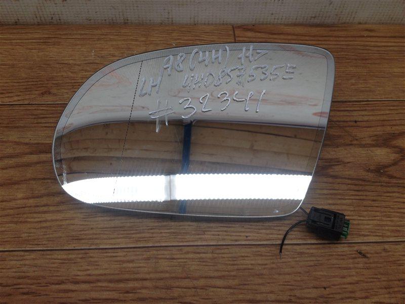 Зеркало левое - зеркальный элемент Audi A8 (D4) 2009-2018