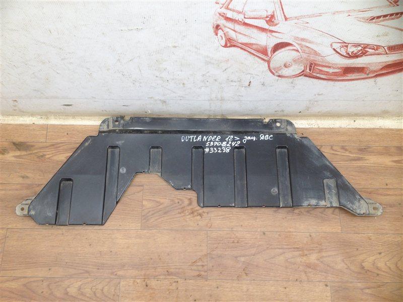 Защита моторного отсека - пыльник двс Mitsubishi Outlander (2012-Н.в.)