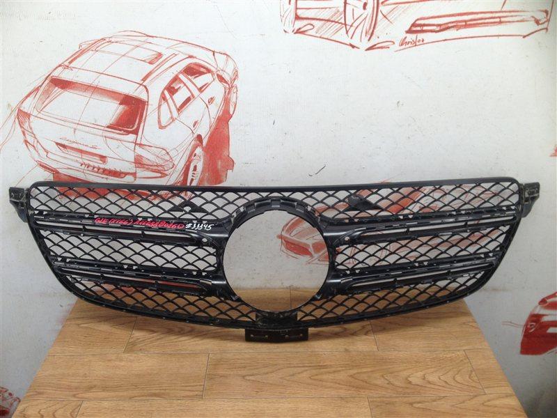 Решетка радиатора - каркас Mercedes Gle-Klasse (W166) 2015-2018