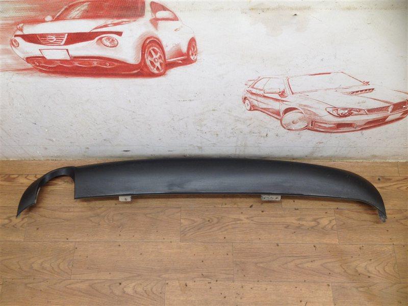 Спойлер (накладка) бампера заднего Audi A4 (B7) 2005-2009