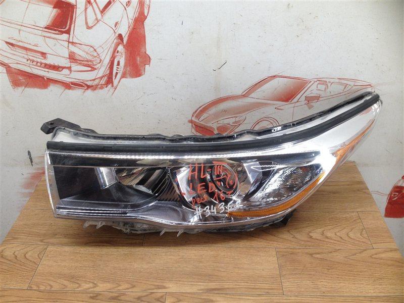 Фара левая Toyota Highlander (Xu50) 2013-Н.в. 2013