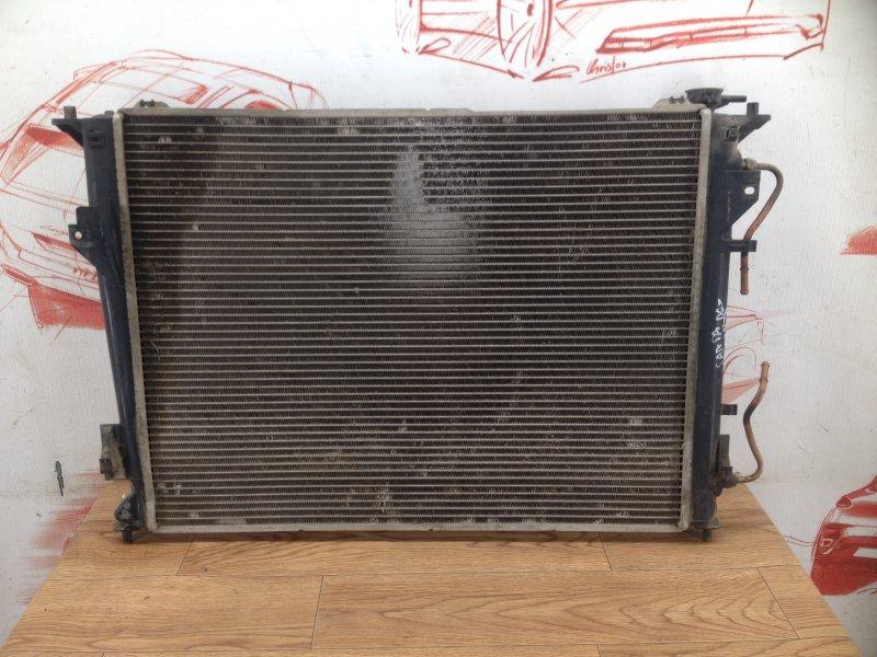 Радиатор охлаждения двигателя Hyundai Santa-Fe (2006-2012)