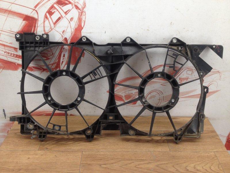 Диффузор радиатора охлаждения - рамка вентиляторов Subaru Legacy (B14) 2009-2015
