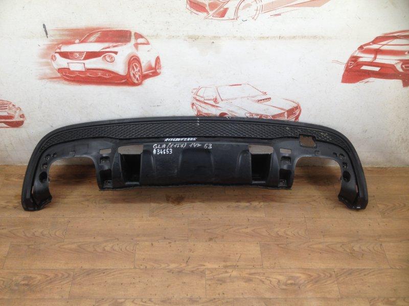 Спойлер (накладка) бампера заднего Mercedes Gla-Klasse (W156) 2013-2020 2013