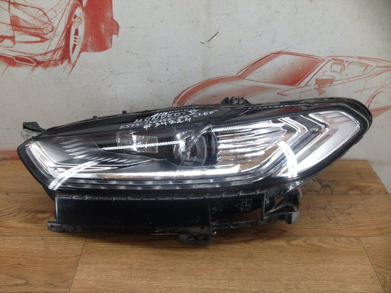 Фара левая Ford Mondeo 5 2014-2019