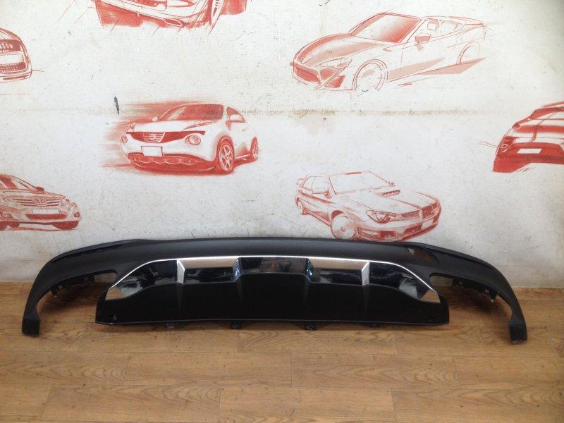 Спойлер (накладка) бампера заднего Mercedes Gle-Klasse (W166) 2015-2018
