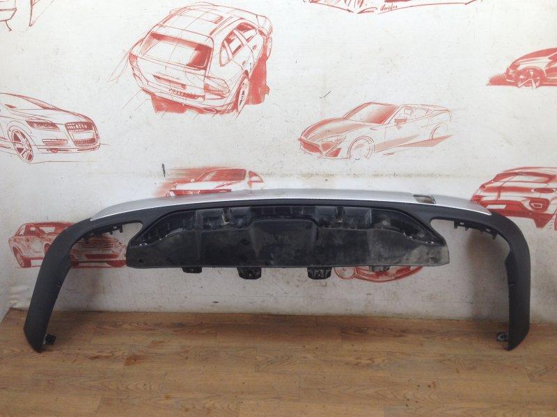 Спойлер (накладка) бампера заднего Mercedes Gls-Klasse (W166) 2015-2019