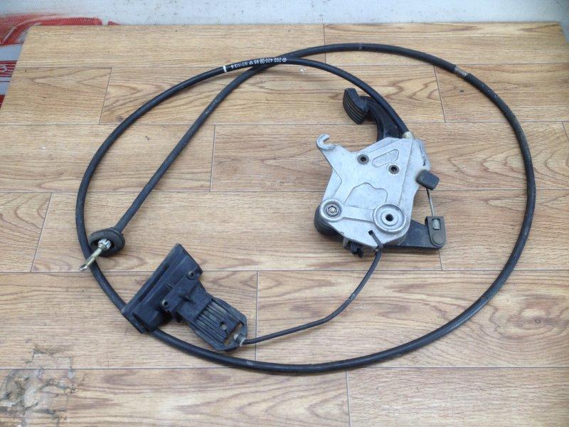 Тормозная система - рычаг стояночного тормоза (ручник) Mercedes C-Klasse (W202) 1993-2001 M 104.941 1993