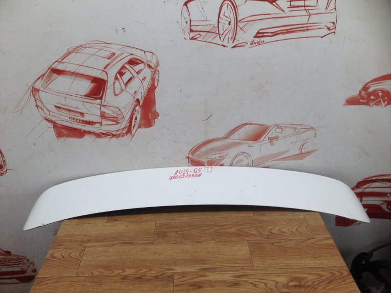 Спойлер-антикрыло двери/крышки багажника Audi Q5 (2008-2017)