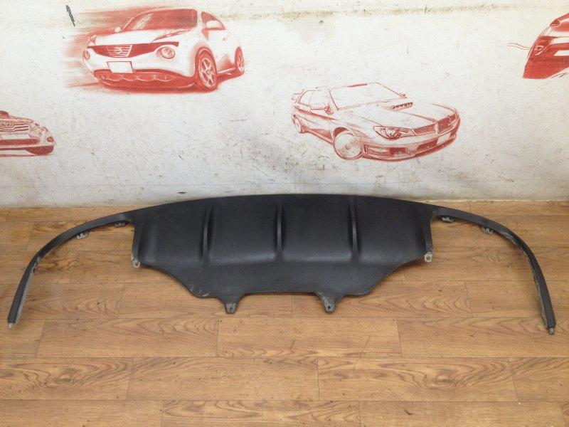 Спойлер (накладка) бампера заднего Porsche Macan (2013-Н.в.)