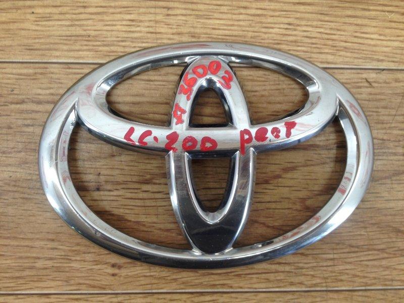 Эмблема (значок) Toyota Land Cruiser 200 (2007-Н.в.) 2011
