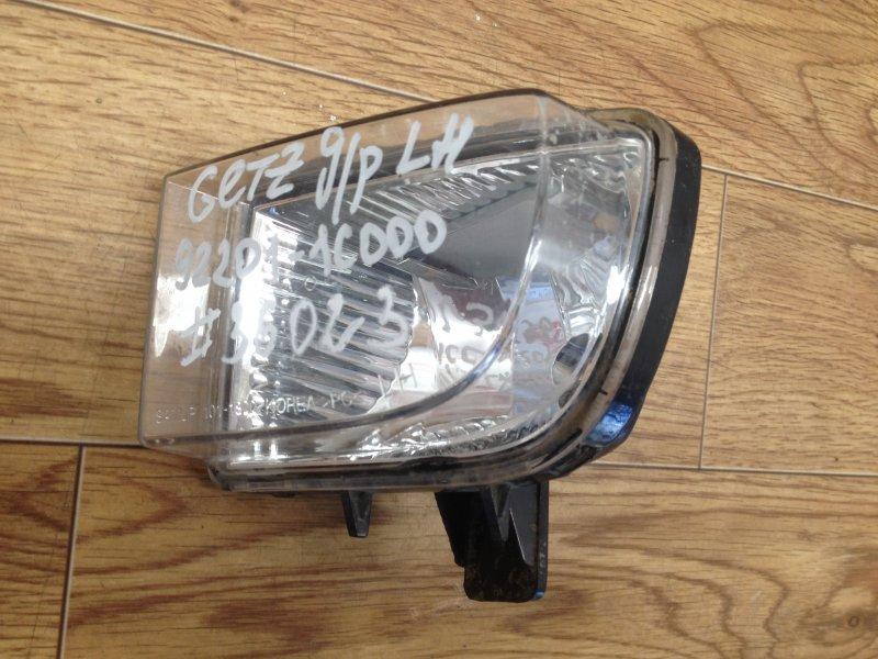 Фара противотуманная / дхо Hyundai Getz (2002-2011) 2002 левая