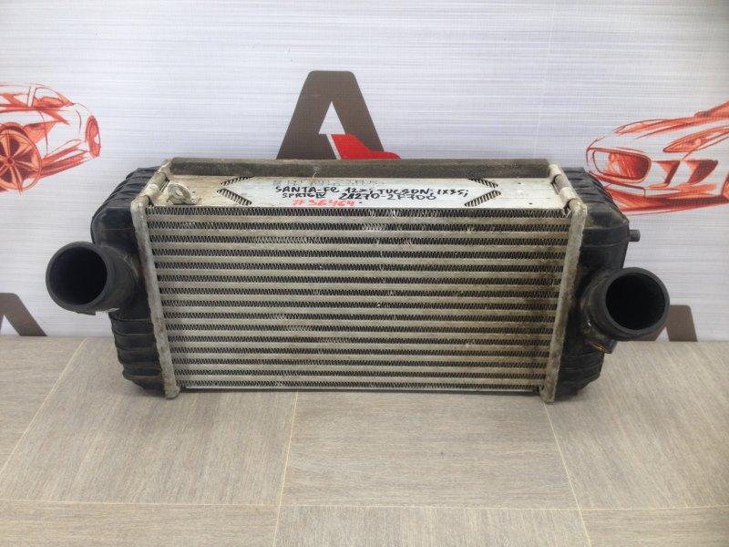 Интеркулер - радиатор промежуточного охлаждения воздуха Hyundai Grand Santa-Fe (2013-2018)