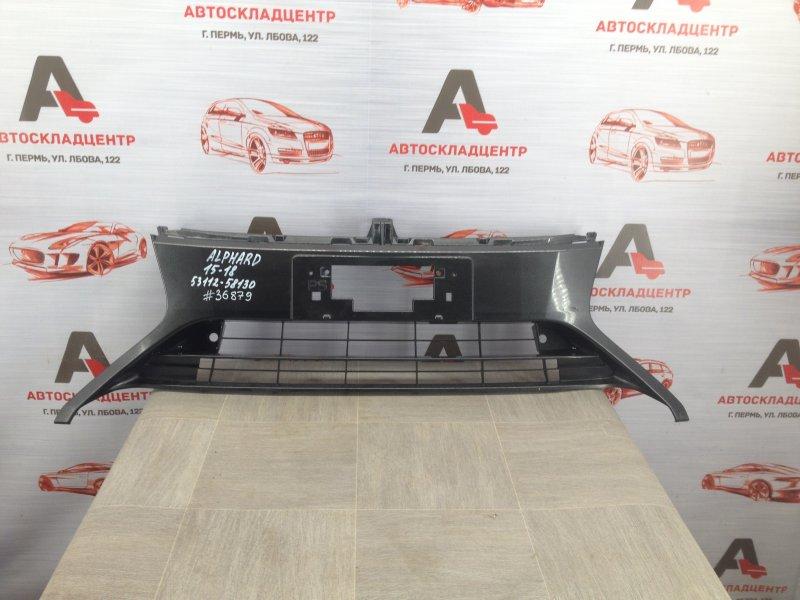 Решетка бампера переднего Toyota Alphard (H30) 2015-Н.в. 2015