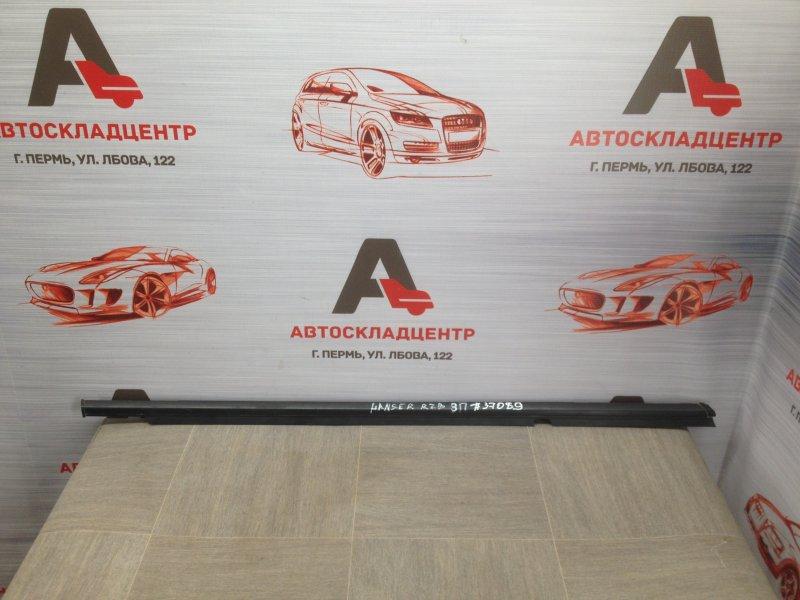 Молдинг-уплотнитель стекла двери (бархотка) Mitsubishi Lancer-10 (2006-2016) 4A91 (1500CC ) 05.2008 задний