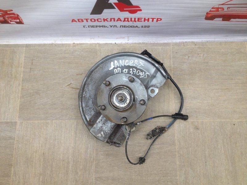 Цапфа колеса (поворотный кулак) Mitsubishi Lancer-10 (2006-2016) 4A91 (1500CC ) 05.2008 передняя правая
