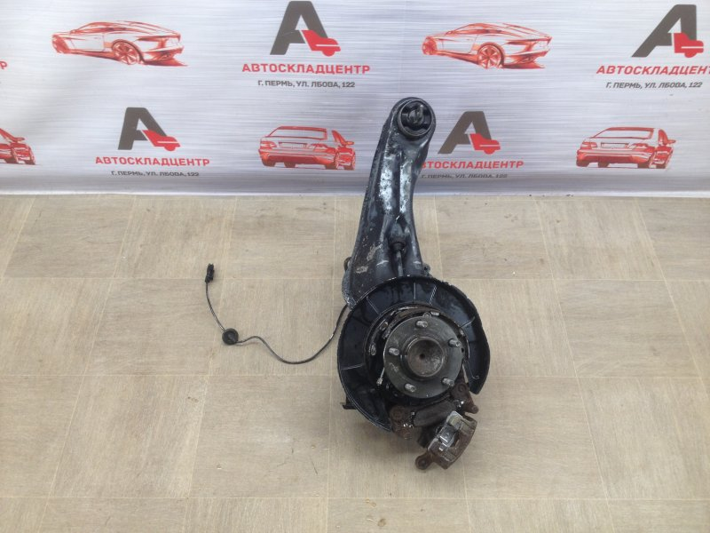 Цапфа колеса (поворотный кулак) Mitsubishi Lancer-10 (2006-2016) 4A91 (1500CC ) 05.2008 задняя левая