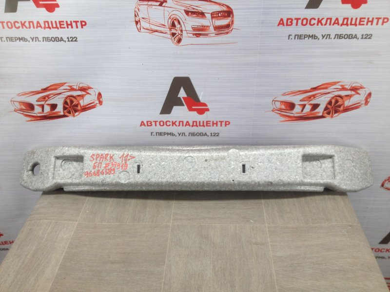 Абсорбер (наполнитель) бампера переднего Chevrolet Spark 2010-2015