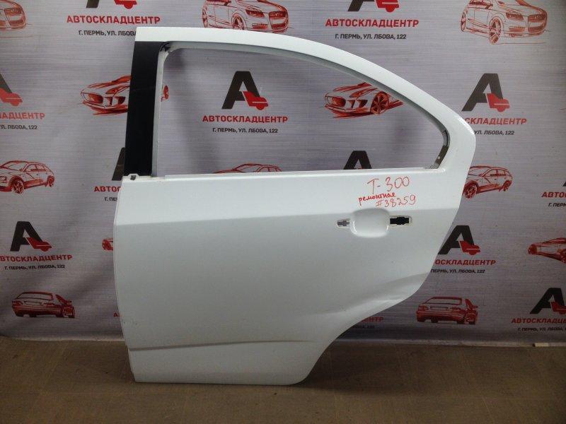 Дверь задняя левая Chevrolet Aveo 2012-2015