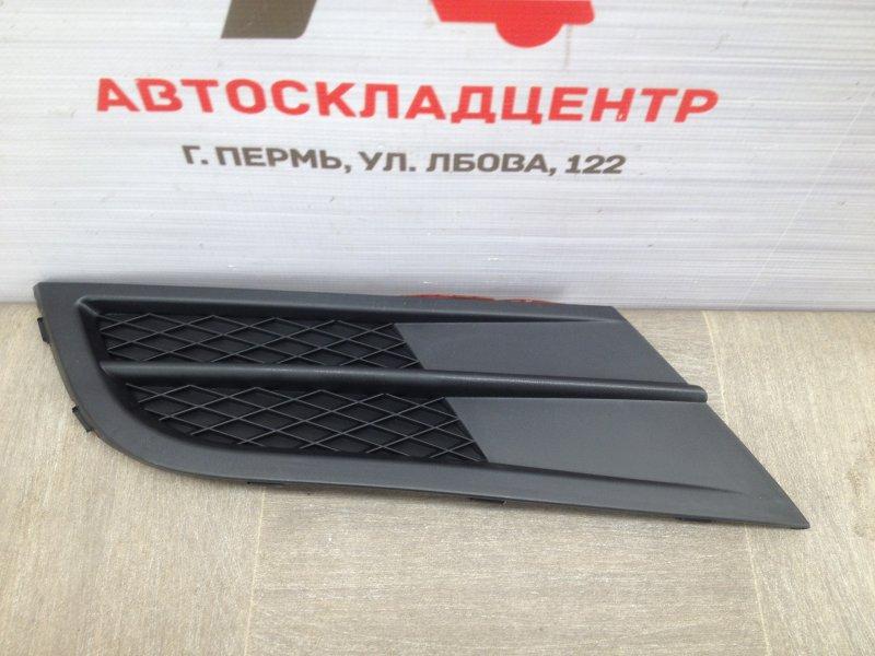 Заглушка противотуманной фары Volkswagen Jetta (Mk6) 2010-2019 2014 левая