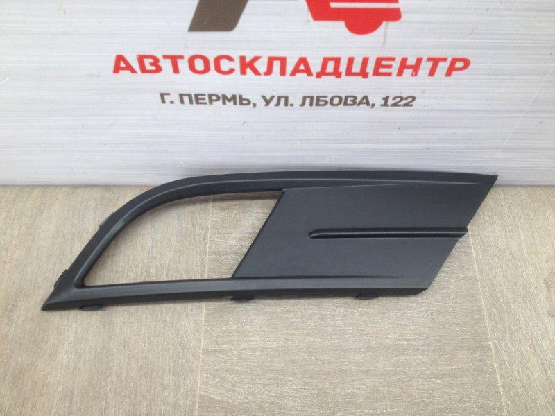 Накладка противотуманной фары / ходового огня Volkswagen Jetta (Mk6) 2010-2019 2014 правая