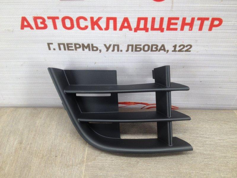 Решетка бампера переднего Skoda Fabia (2006-2015) 2010 правая