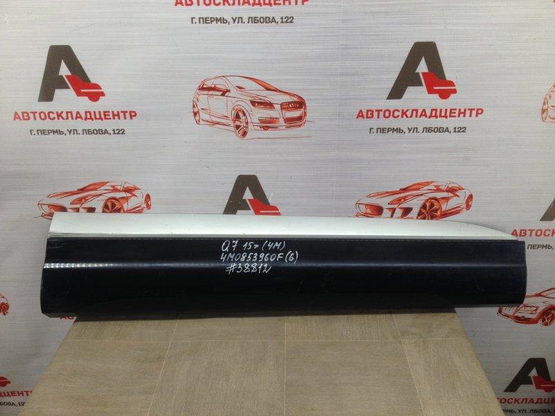 Накладка двери передней правой Audi Q7 (2015-Н.в.)