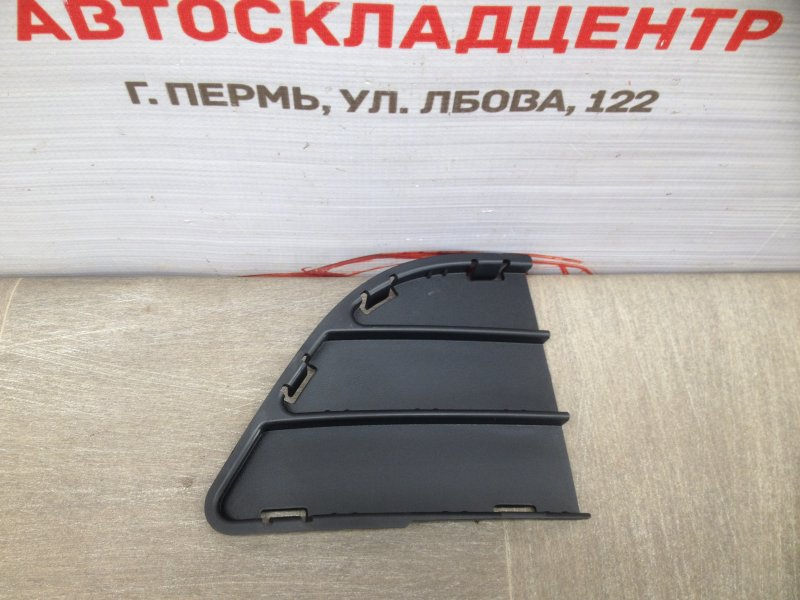 Решетка бампера переднего - заглушка Chevrolet Spark 2010-2015 правая