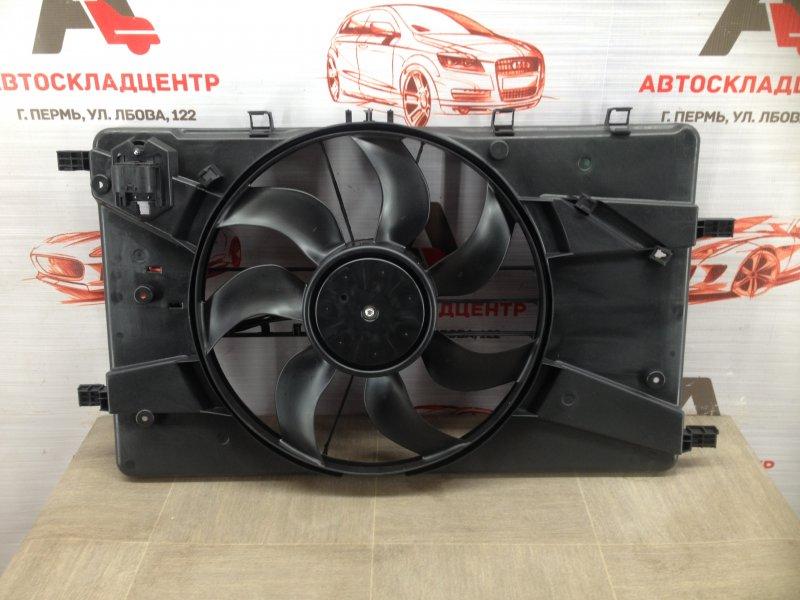 Диффузор радиатора охлаждения - рамка вентиляторов Chevrolet Cruze
