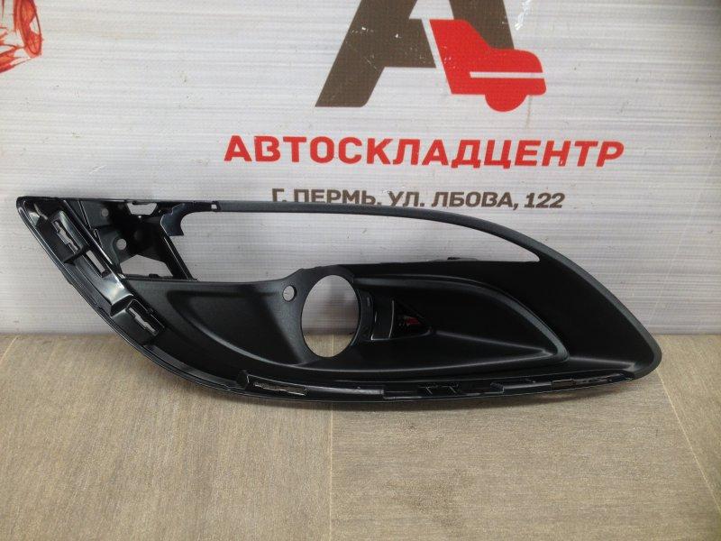 Накладка противотуманной фары / ходового огня Opel Astra - J (2009-2015) 2012 правая