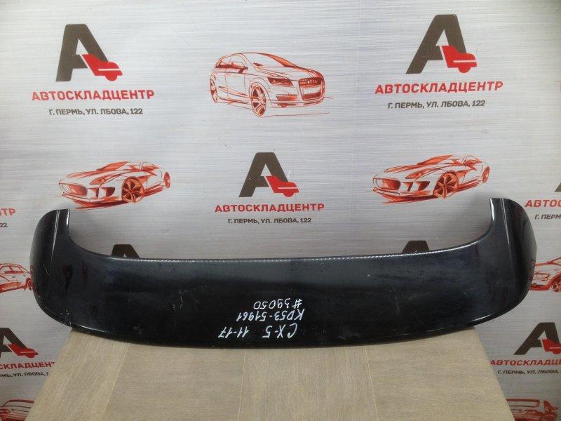 Спойлер-антикрыло двери/крышки багажника Mazda Cx-5 (2011-2017)