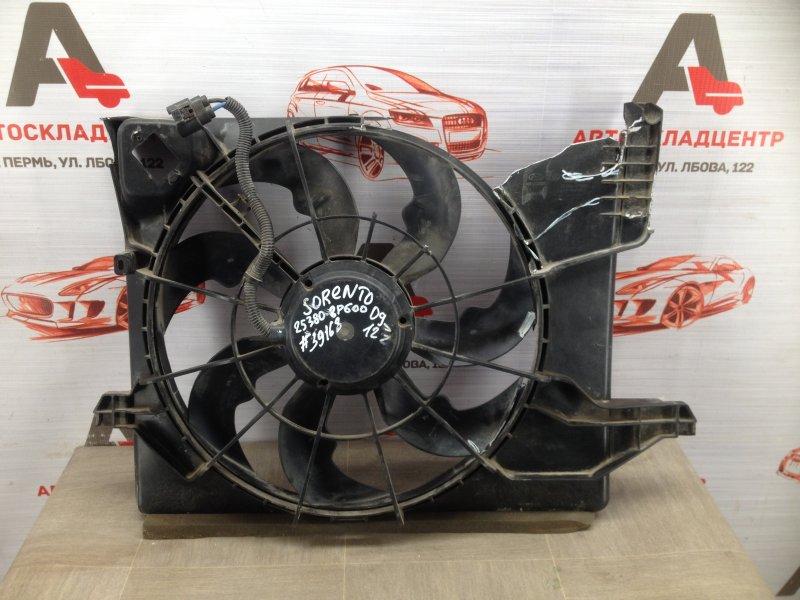 Диффузор радиатора охлаждения - в сборе Kia Sorento (2009-Н.в.) 2400CC (2.4L) G4KE 2012