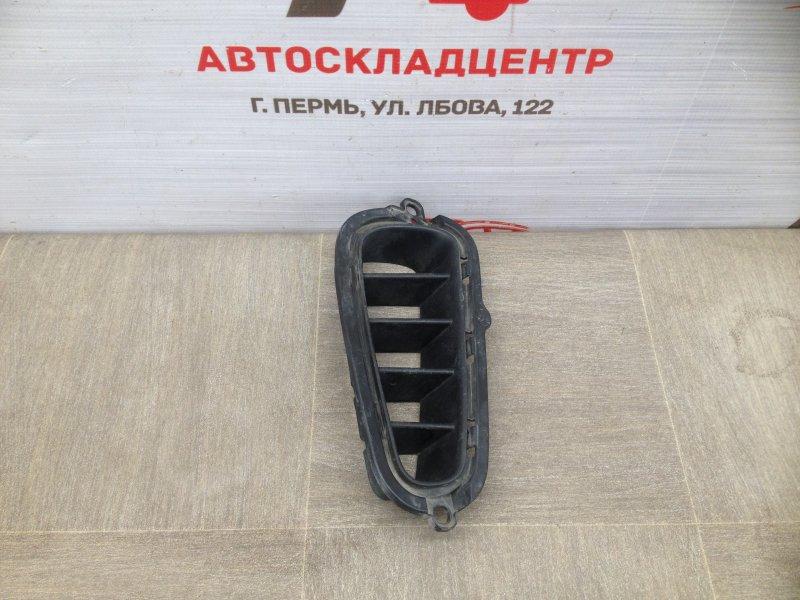 Решетка бампера заднего Kia Stinger (2017-Н.в.) правая