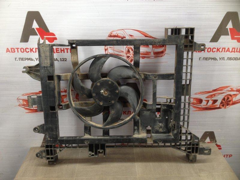 Диффузор радиатора охлаждения - в сборе Nissan Terrano (2014-Н.в.)