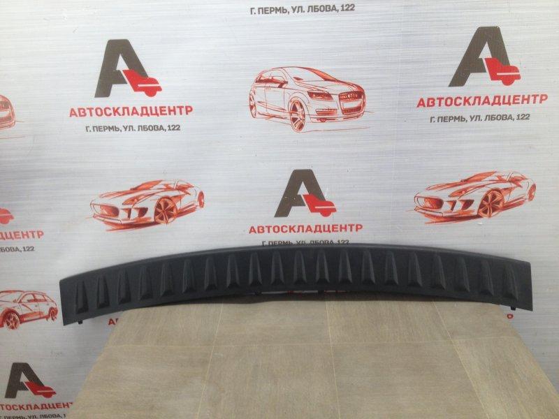 Накладка бампера заднего Hyundai Santa-Fe (2006-2012)