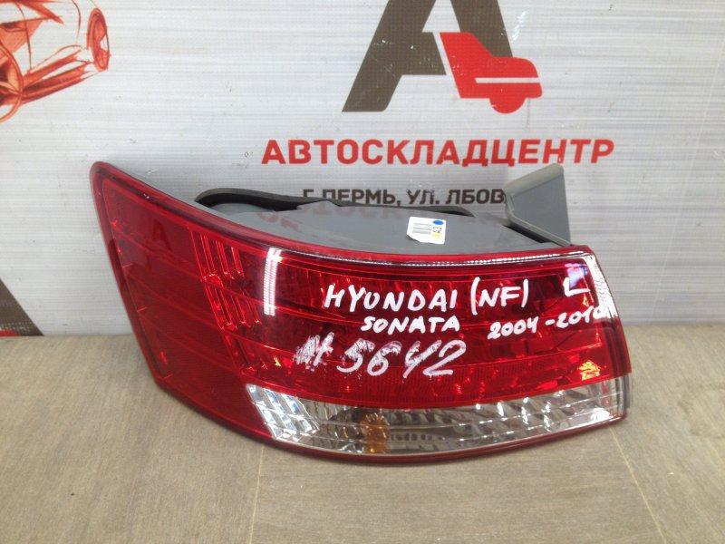 Фонарь левый Hyundai Sonata (2004-2010) Nf