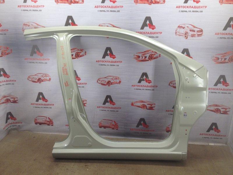 Кузов - боковина (обрезок) Chevrolet Spark 2010-2015 правый