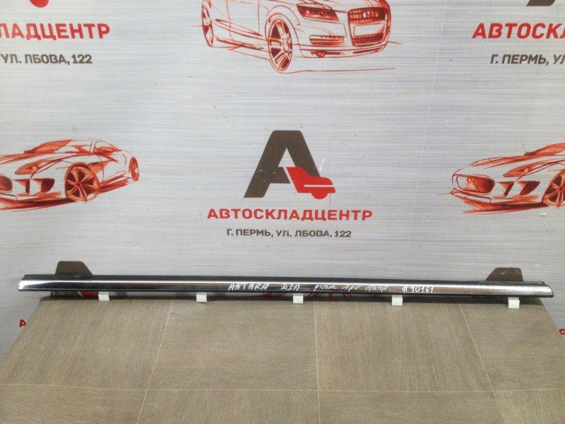 Молдинг-уплотнитель стекла двери (бархотка) Opel Antara (2006-2015) задний правый