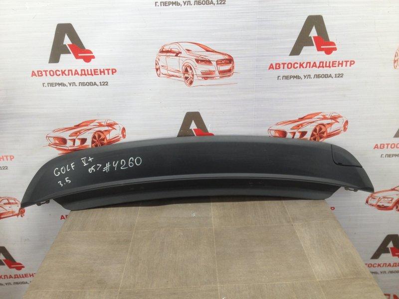 Спойлер (накладка) бампера заднего Volkswagen Golf Plus (2005-2014) 2009