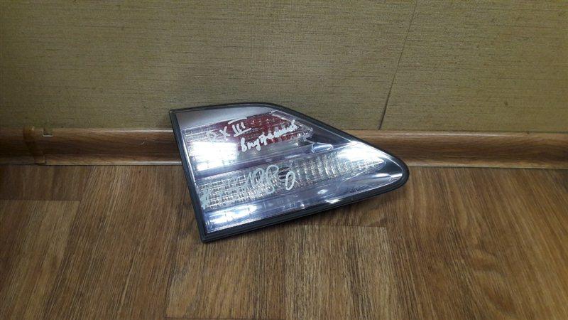Фонарь левый - вставка в дверь / крышку багажника Lexus Rx -Series 2008-2015 2008